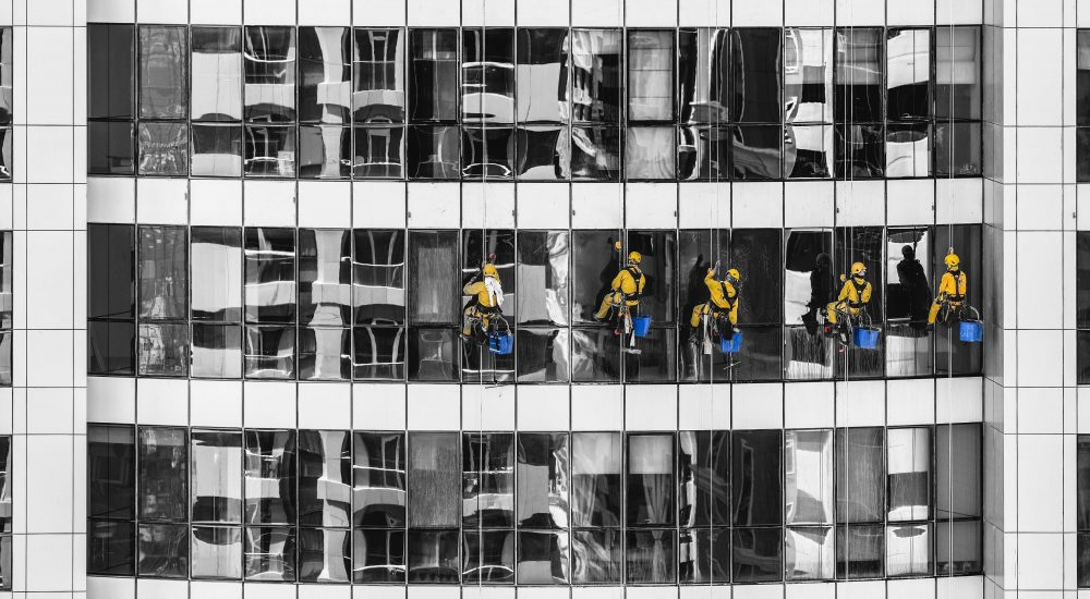 office window cleaning expert in Melbourne Ecoh